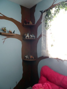 Fairy Shelves and Window