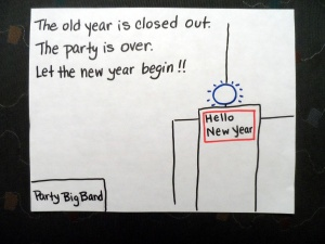 The Party is Over, A New Year Begins (with accounts zeroed)