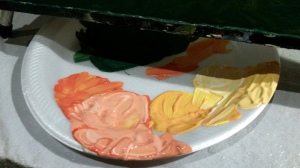 paint pallette_sunset colors